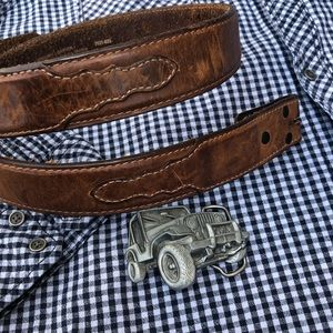 Other - 🔴Western style belt, add your own buckle